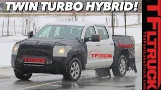 The 2021 Toyota Tundra Will Be A Hybrid That Makes 450 HP...Anonymous Source Says!
