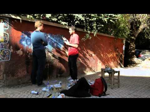 Quelque Artistes Marocain de rue en performence pour L'émission Streetosphere MARRAKECH