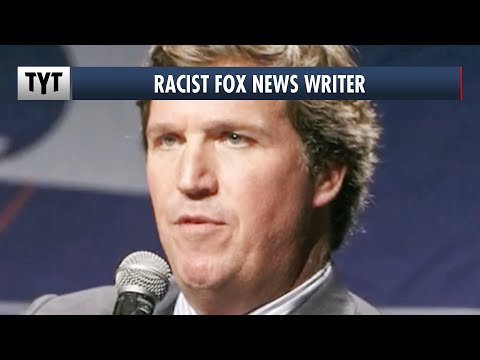 Tucker Carlson's Racist Writer EXPOSED