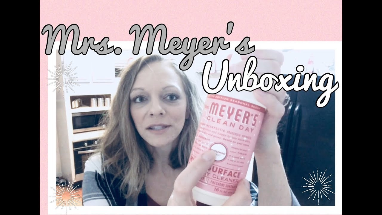 Download MRS. MEYER'S UNBOXING || LIMITED WINTER SCENTS