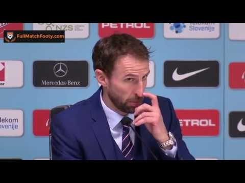 Slovenia 0 0 England   Gareth Southgate's Post Match Press Conference