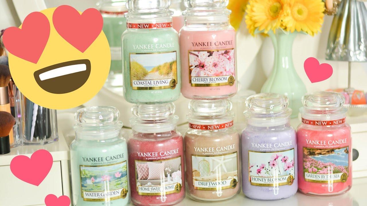 Nowe świece Yankee Candle