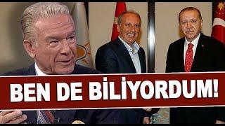 Uğur Dündar'dan Cumhurbaşkanı Erdoğan-Muharrem İnce açıklaması!