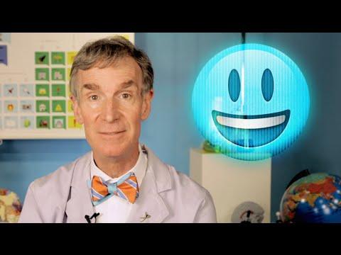 Bill Nye explains Star Wars holograms using emoji