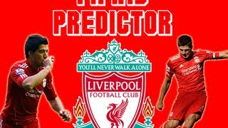 Fifa 13 Predictions - Liverpool