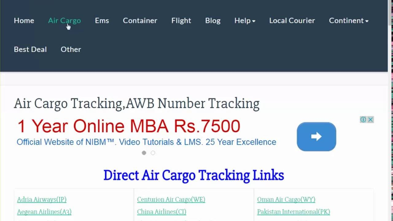 UPS Cargo Tracking,UPS Air Cargo Tracking Status - YouTube