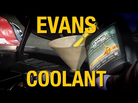 Waterless Coolant!  Evans High Performance Waterless Coolant - Keep Your Engine Cooled - Eastwood