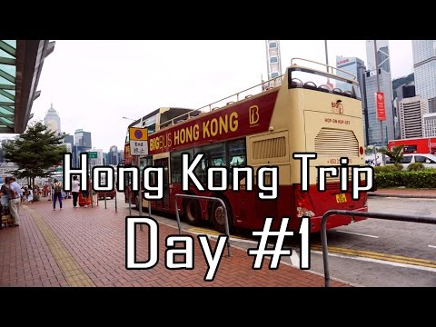 Hong Kong - Macau Trip | Day #1 Victoria Harbour, The Peak, Madame Tussauds