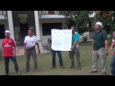 pembentangan kumpulan Team Building FPSO VENTURES Bersama Ustz Ebit Lew