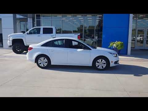 2015 Chevy Cruze for Jeff from Randall at Joe Cooper Chevrolet and Cadillac in Shawnee