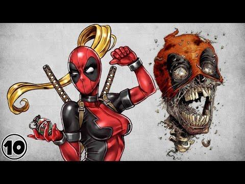 Top 10 Alternate Versions Of Deadpool