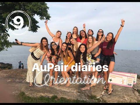 I am still alive Orientation days AuPair diaries #9