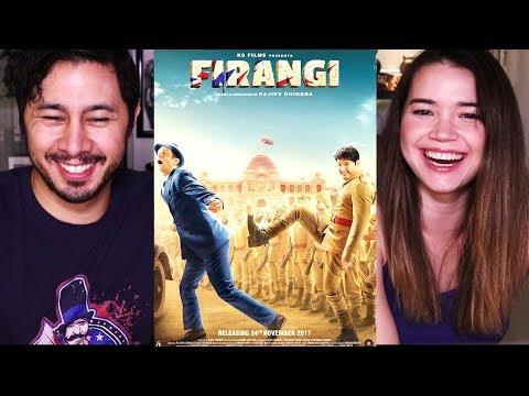 FIRANGI   Kapil Sharma   Ishita Dutta   Monica Gill   Trailer Reaction!