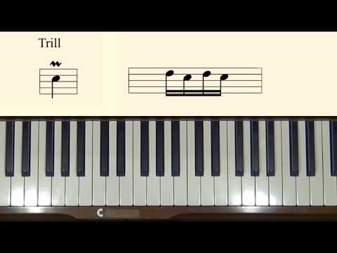 Piano Sight-reading Lesson 10: Trills and Ornaments