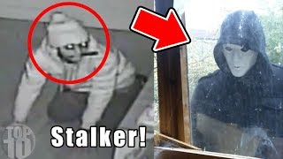 10 STALKERS CAUGHT ON TAPE