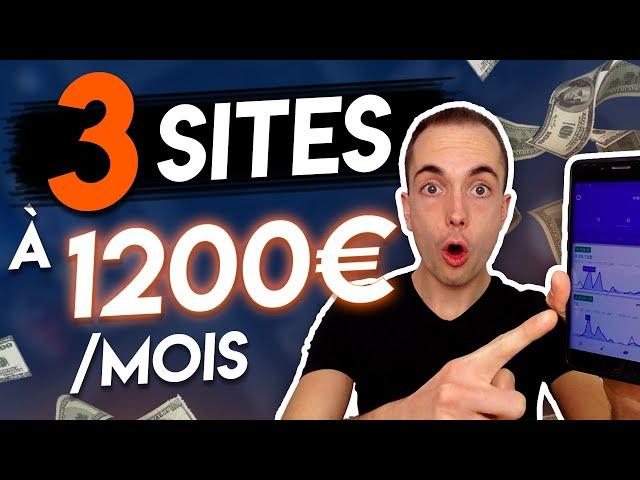 3 SITES INTERNET POUR GAGNER 1200€ PAR MOIS (Gagner de l\'argent sur internet)