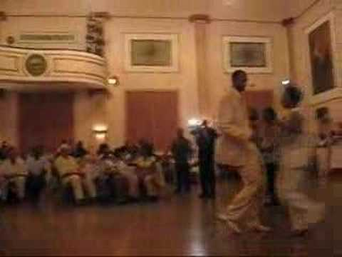 Instructor's dance in Cleveland's Chicago Steppin in Linen