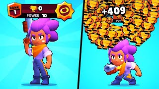 MAX POWER SHELLY, 0 TROPHIES in BrawlStars