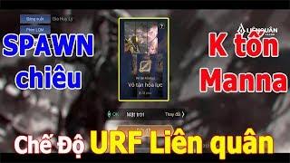 Liên quân Chế Độ mới URF - Vô Tận Hỏa Lực Hack chiêu liên tục Manna không tốn Trải Nghiệm Game