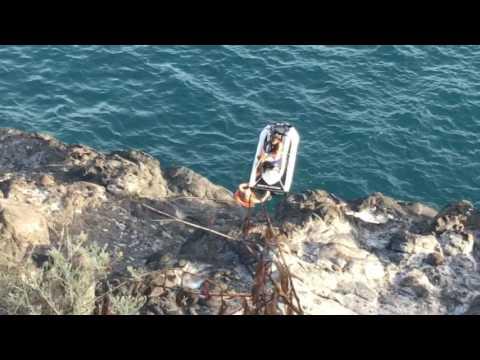 Man rescue at Puerto Santiago