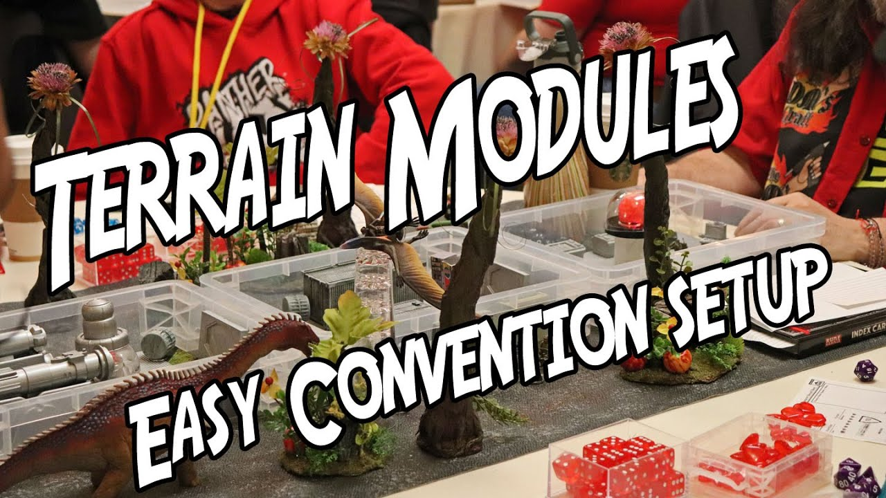 Terrain Modules 👉Easy to Transport and Use at Conventions (DM's Craft)