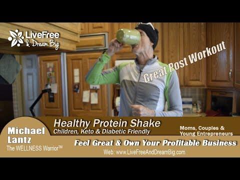 Power Protein Shake; Children, Ketogenic & Diabetic Friendly