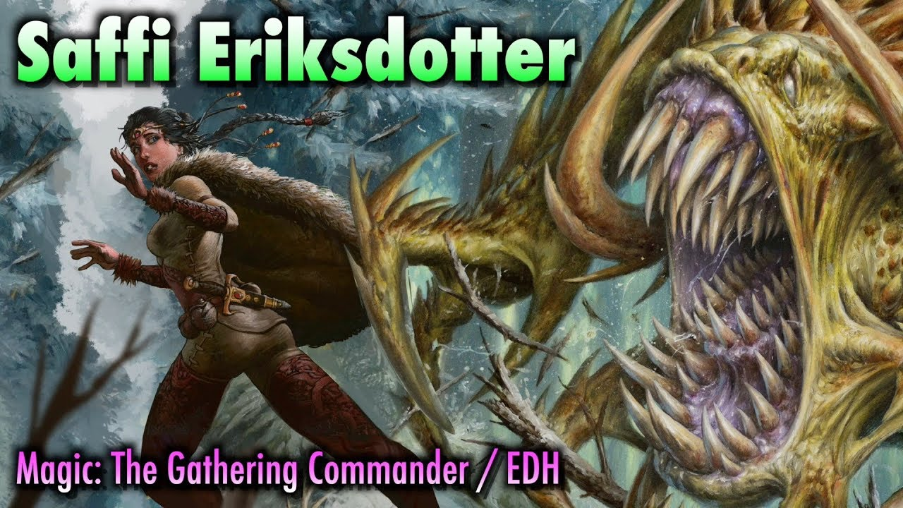 Download Ach! MTG Players, Run! It's The Saffi Eriksdotter EDH / Commander Deck! | Magic: The Gathering