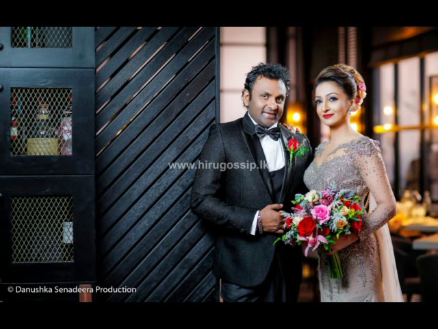 Anjula Rajapaksha Wedding Photo Shoot