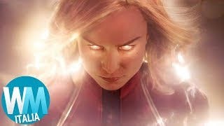 Chi è CAPTAIN MARVEL (Carol Danvers)?  Origini nel Fumetto!