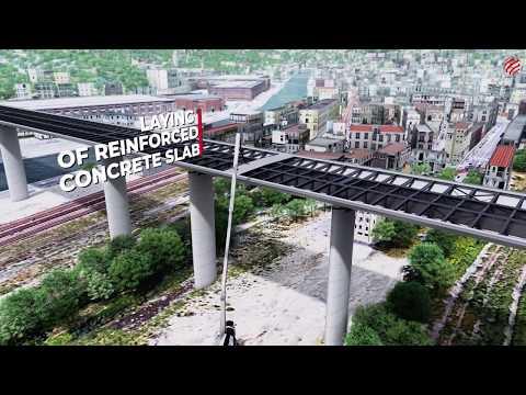 Il nuovo Ponte di Genova: un modello innovativo di costruzione. Video 3D