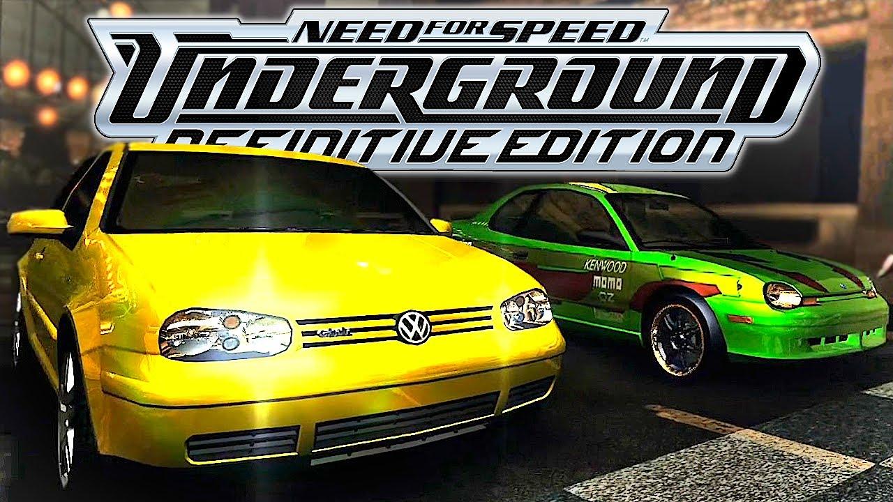 NFS Underground Remastered in 2020? (Definitive Edition Mod) | KuruHS