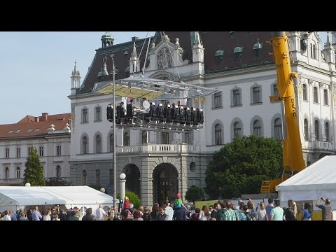 Slovenia Ljubljana City Tour 2015