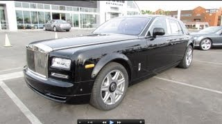 2013 Rolls Royce Phantom Series II Start Up, Exhaust, and In Depth Review