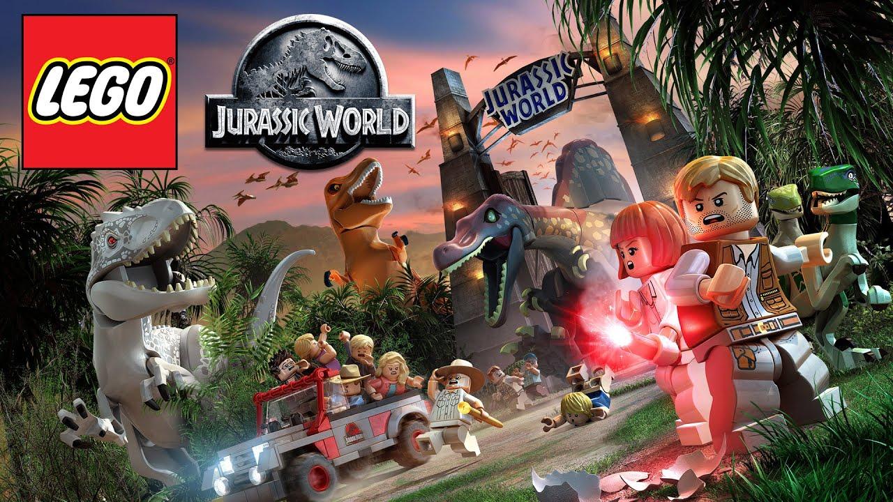 Zagrajmy W Lego Jurassic World Pl Dinozaury Lego 1080p 56