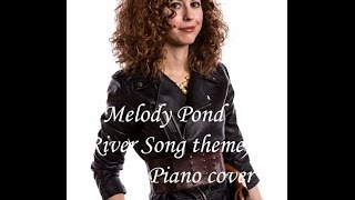 Piano cover - Melody Pond (a River Song theme) (Doctor Who) (in River Song cosplay)