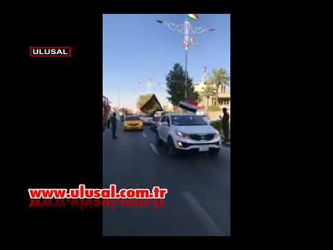 Irak Kerkük'ten görüntüler! Musul'da da operasyon başladı