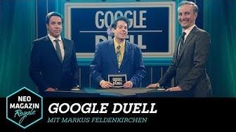 Google Duell mit Markus Feldenkirchen   NEO MAGAZIN ROYALE mit Jan Böhmermann - ZDFneo