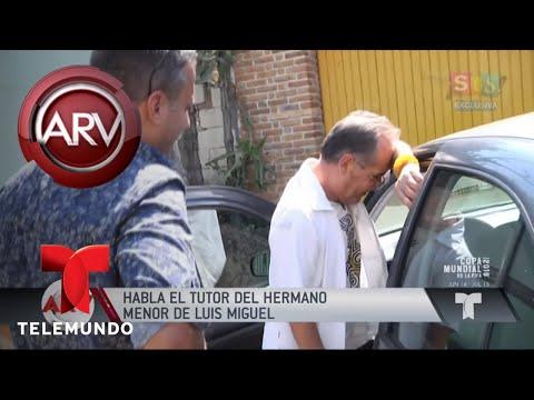 Exclusivo: noticias del hermano menor de Luis Miguel | Al Rojo Vivo | Telemundo