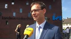 Landeskrankenhaus Bregenz offiziell neu eröffnet