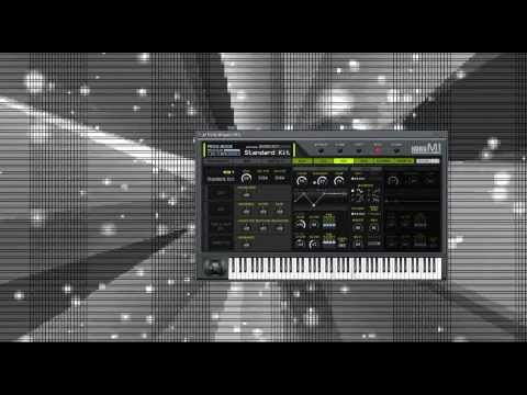Korg M1 /Part of Legacy Collection/ sounds demo - YouTube