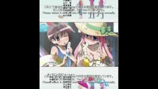 """咲-Saki- ED3 「四角い宇宙で待ってるよ」 Saki ED3 """"Shikakui uchu de ..."""