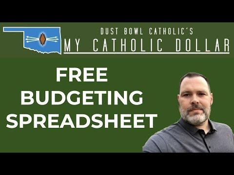 FREE Budgeting Spreadsheet - My Catholic Dollar 016