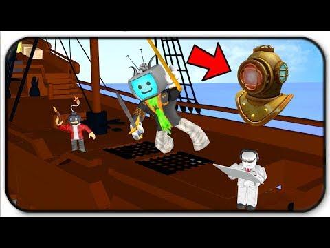 Pirate Adventure For The Atlantis Event Item Divers Helmet - Roblox Tradelands