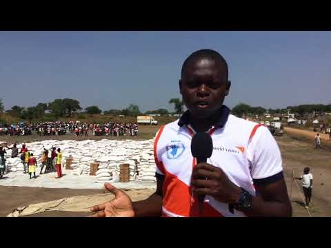 South Sudanese refugees receive food assistance | World Vision Australia