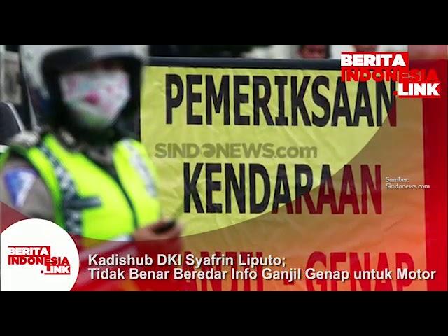 HOAX beredar info aturan Ganjil dan Genap utk Motor!!