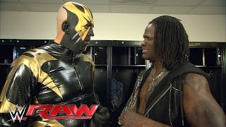 R-Truth won't have Goldust's back at WrestleMania: Raw, March 28, 2016