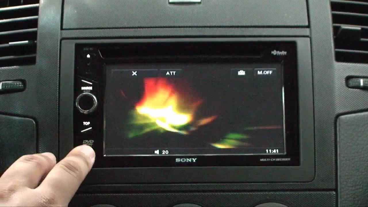 Car Audio Wallpaper Phone Sony Xav 60 Part 1 Youtube
