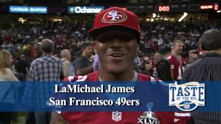 Super Bowl XLVII Media Day with Baltimore Ravens and San Francisco 49ers