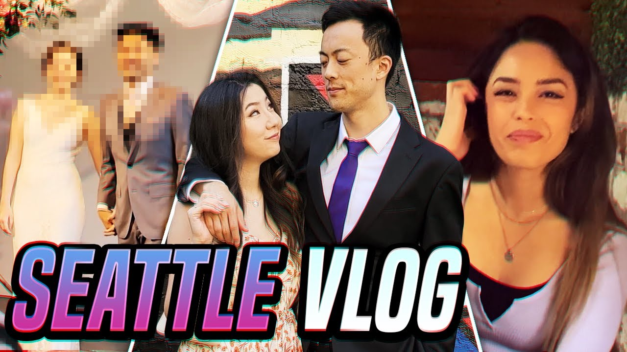 WE WENT TO A WEDDING IN SEATTLE! ft. Valkyrae and OfflineTV