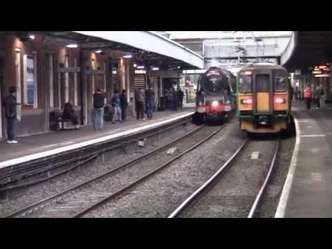 Nuneaton Railway Station - featuring LMS Coronation 46233 Duchess of Sutherland